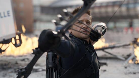 Jeremy Renner as Clint Barton aka Hawkeye