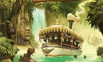 Disney Jungle Cruise Adventure Board Game