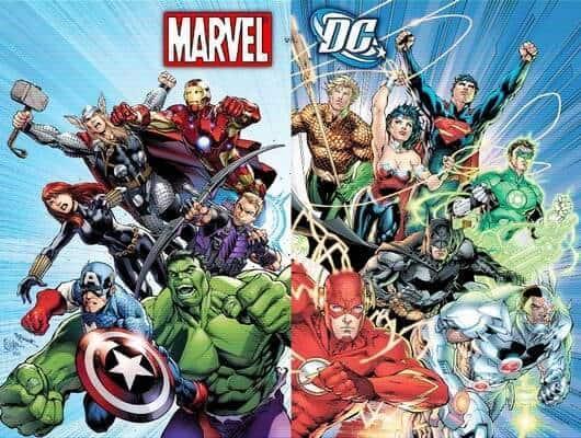Marvel take over DC Comics