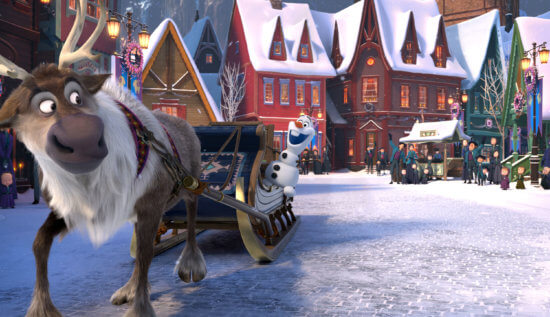 Olaf and Sven Arendelle street