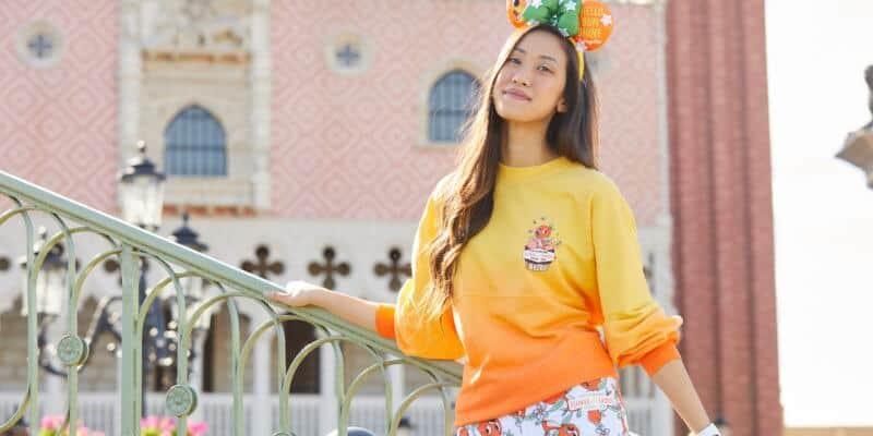 EPCOT Orange Bird spirit jersey front