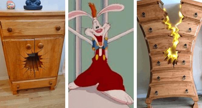 toontown dresser for roger rabbit