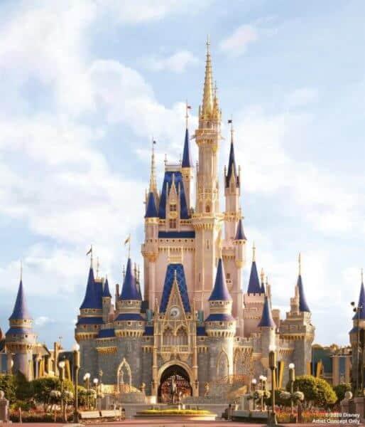 "Cinderella Castle ""Royal Makeover"""