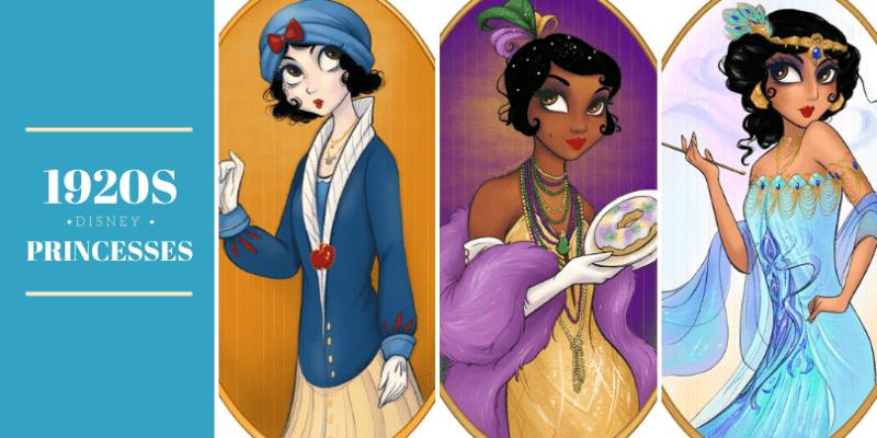 1920s disney princesses
