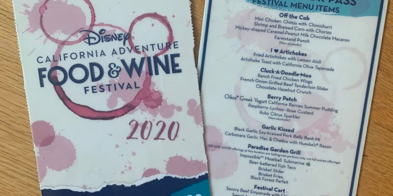 2020 DCA Food & Wine Sip and Savor Pass