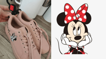minnie mouse trainers primark