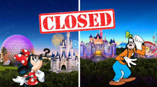 Disney Closures Coronavirus