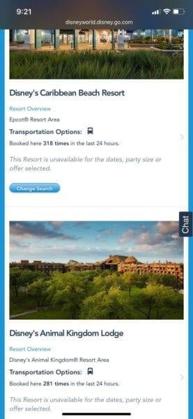 Resort Reservation
