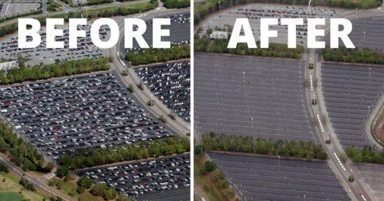 Magic Kingdom parking lot