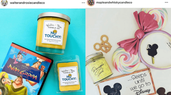 Disney Candles