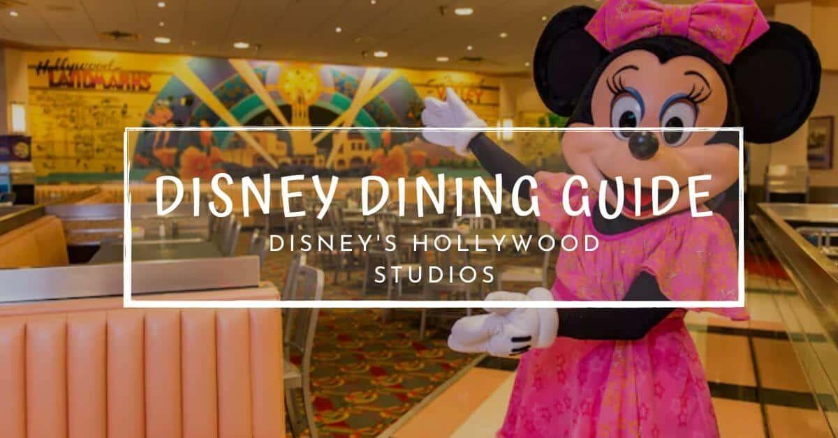 Disney Dining Guide 5.