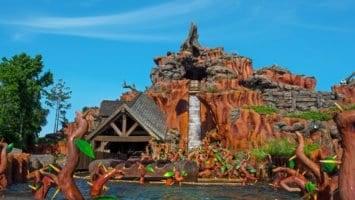 Disney World Splash Mountain