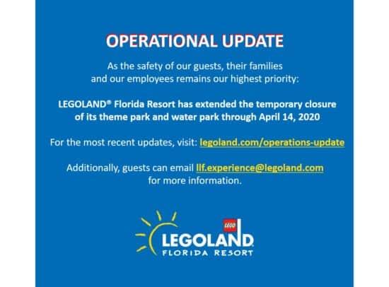 Legoland Florida Operations Update