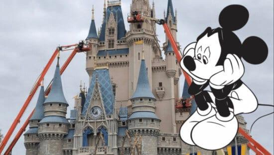 Cinderella Castle Construction Halted