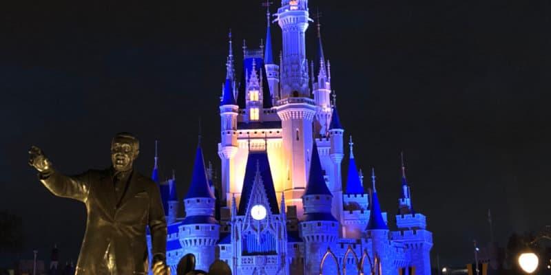 Partners Statue Cinderella Castle
