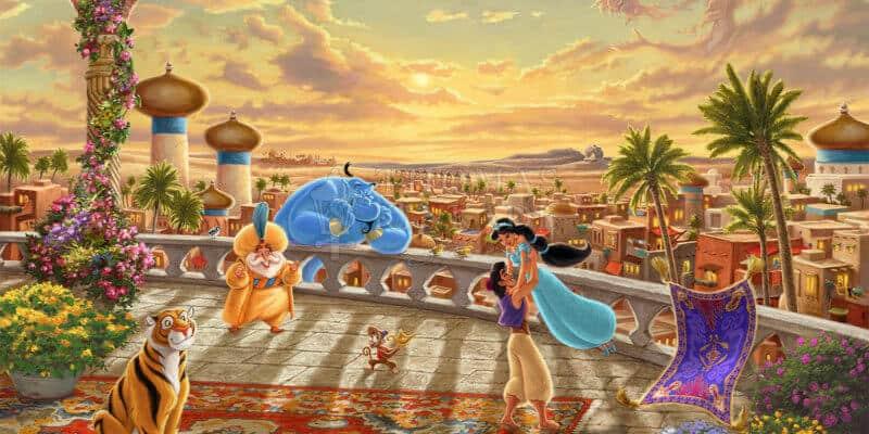Jasmine Dancing in the Desert Sunset
