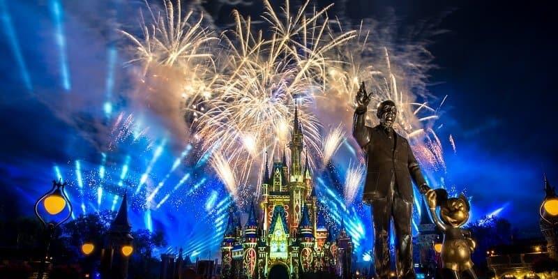 Happily Ever After Fireworks, Magic Kingdom Park
