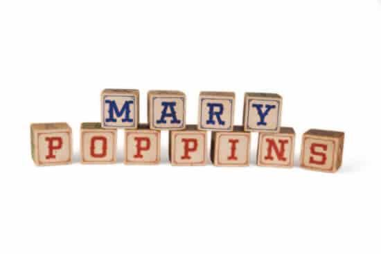 mary poppins blocks