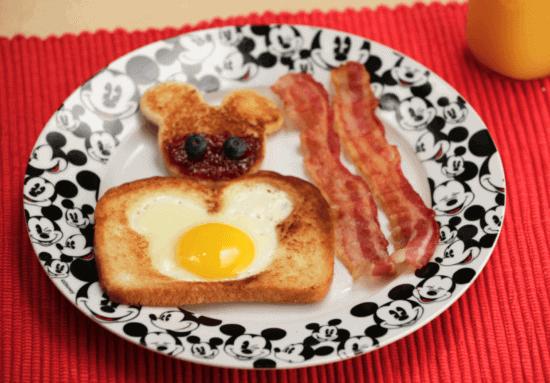Mickey Breakfast