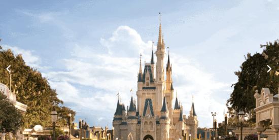 Cinderella's Castle front view WDW