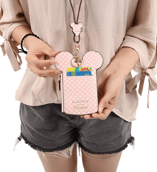 Pink Disney Wallet