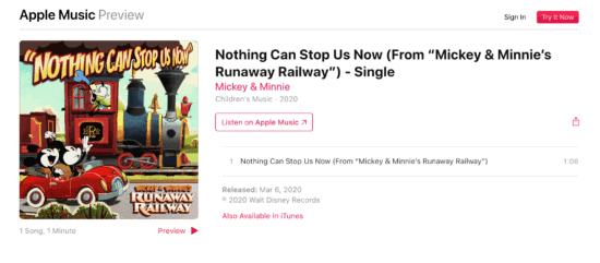 Mickey Minnie Apple Music