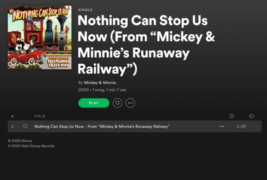 Mickey Minnie Runaway
