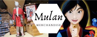 live action mulan merchandise