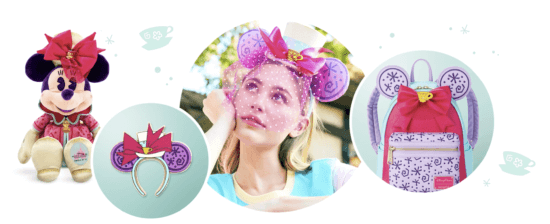 Minnie Mouse April Small World Collection on Shop disney