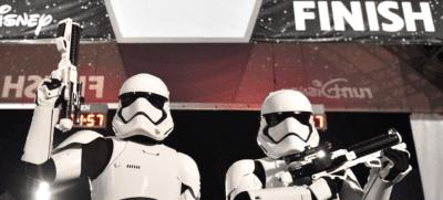 Star Wars Rival Run finish line