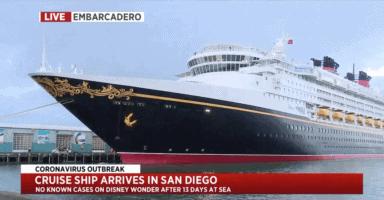 Disney Wonder arrives in San Diego