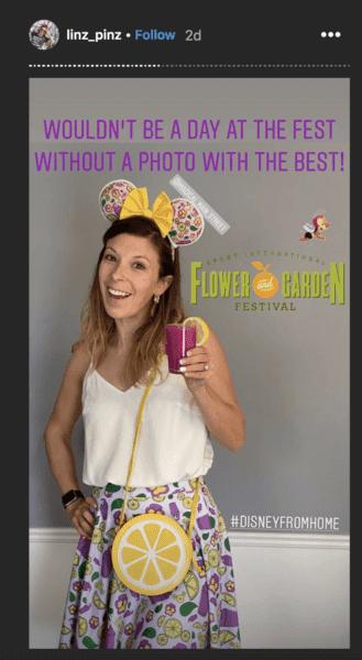 Flower & Garden Festival at home OOTD