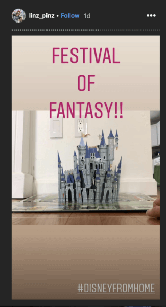 Festival of Fantasy at home