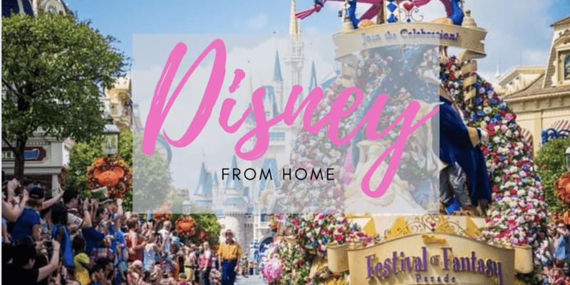 Disney from Home header