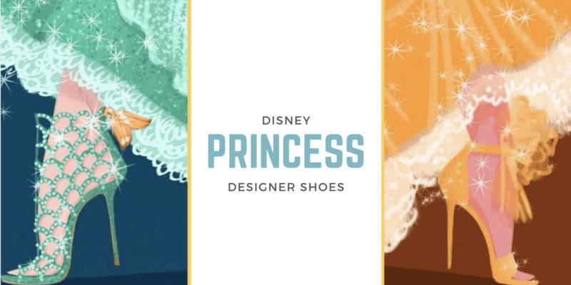 disney princesses designer shoes