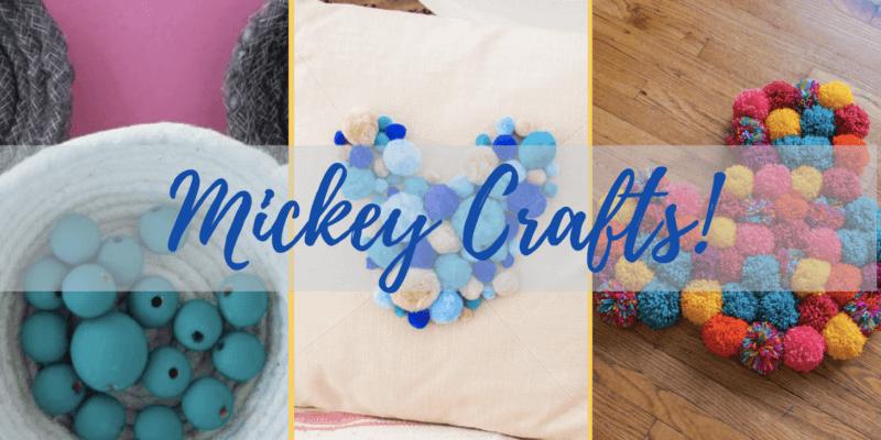 diy mickey crafts