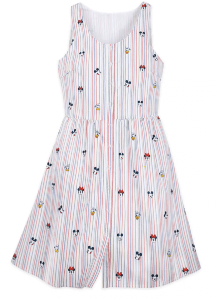 Women's embroidered character dress