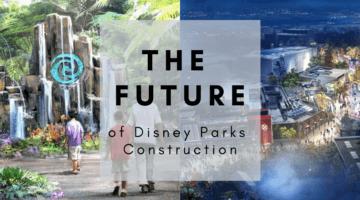 disney parks construction projects