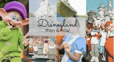 Disney retro characters header