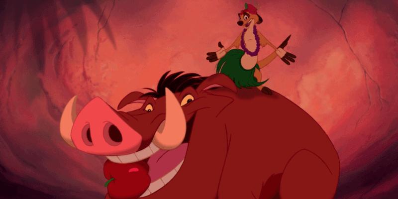 Timone and Pumbaa