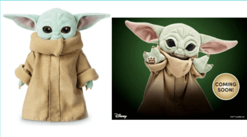 Disney The Child vs Build-A-Bear Baby Yoda Plush