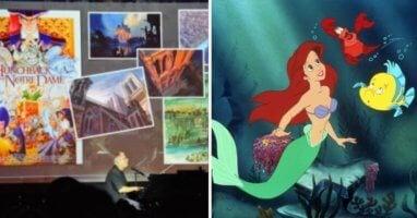 Alan Menken performs at Disneyland