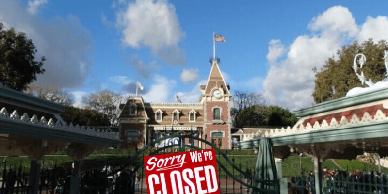 Disney Closure Coronavirus