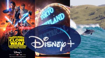 Disney+ April Schedule