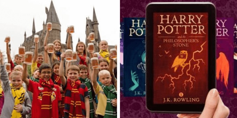 JK Rowling lets teachers use Harry Potter books online for free