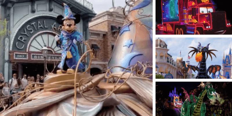 Disneyland Disney World Parade Videos