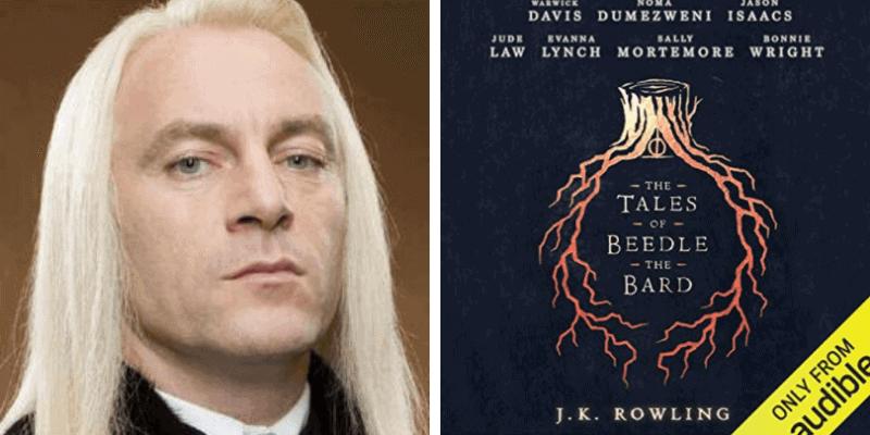 Jason Isaacs The Tales of Beedle the Bard Audible