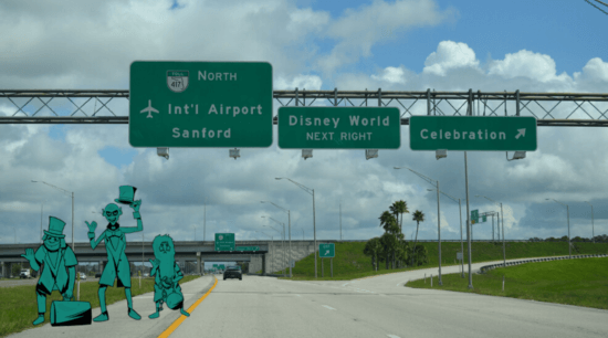 Happy Haunts spotted on I-4