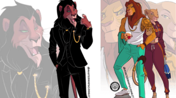 lion king characters with human characteristics