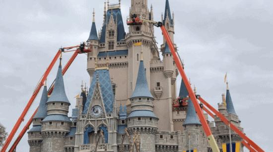 Cinderella Castle Renovations